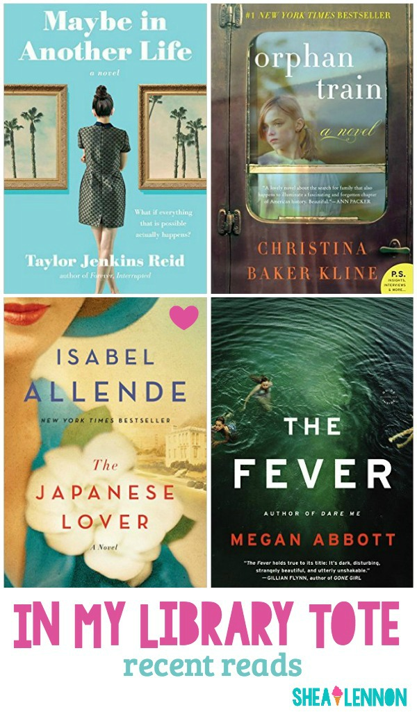 In my library tote: recent reads | www.shealennon.com