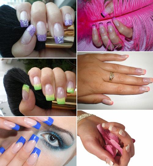 Как сделать красивые ногти быстро