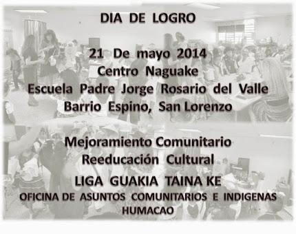 Naguake  Celebra  Dia  de  Logros 2014