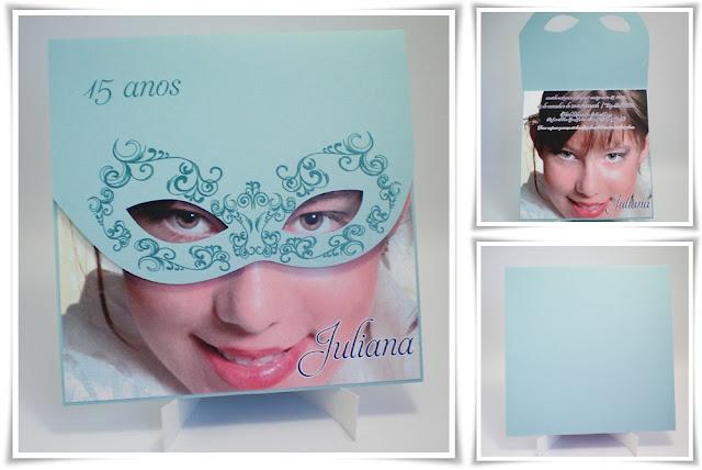 15 anos da Juliana, modelo Máscara.