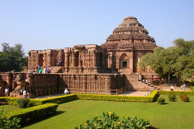 Sun Temple of Konark - The highest point of achievement of Kalinga architecture depicting the grace
