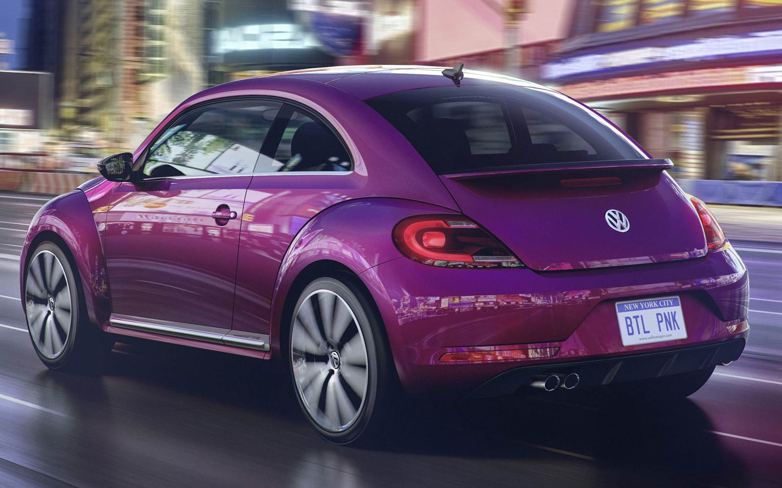 VW Fusca 2016 - Pink Edition