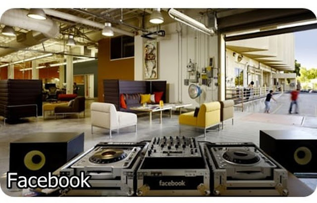 16 Awesome offices of famous companies, awesome, design, picture