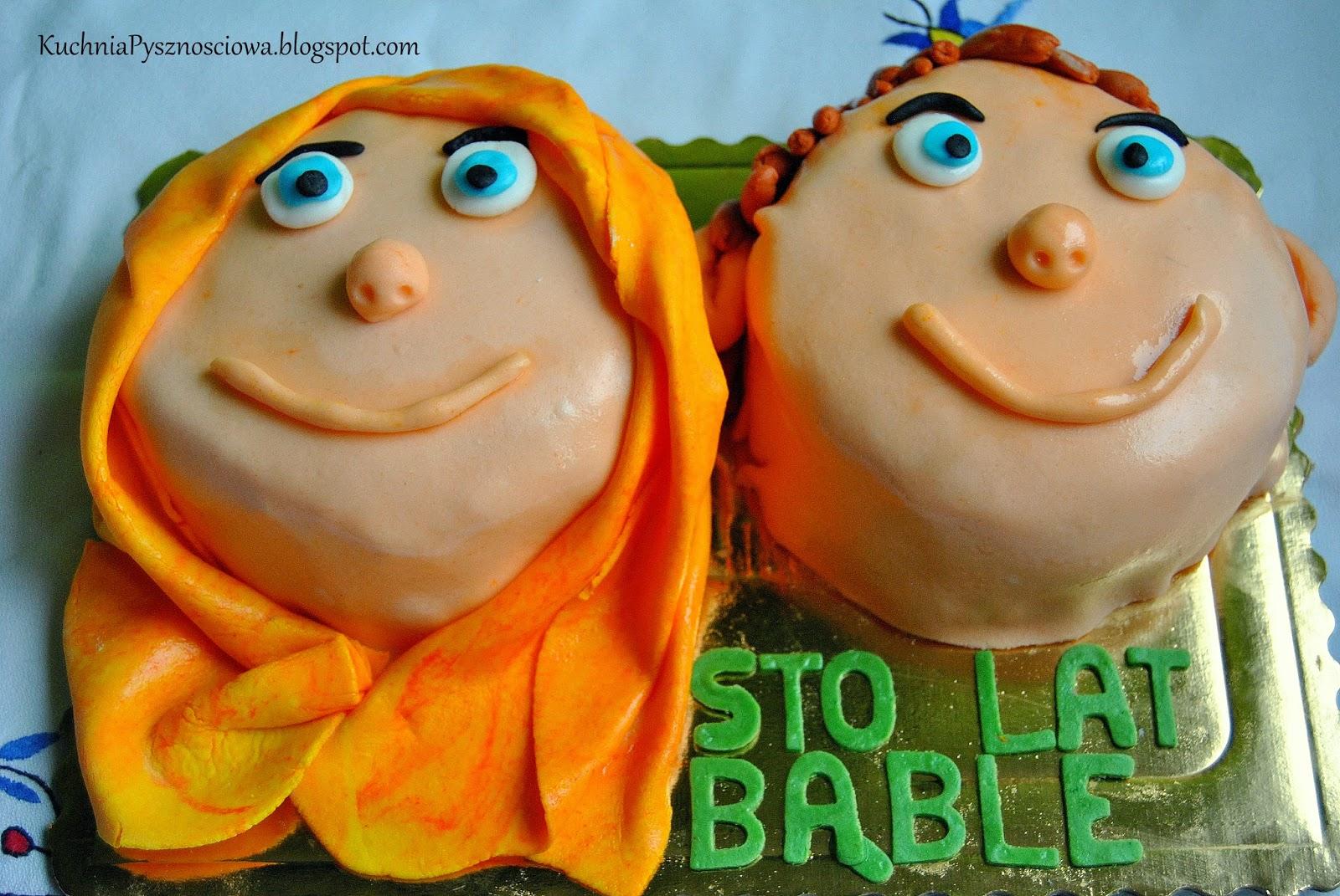 Tort urodzinowy dla bliźniaków