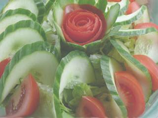 Blandad grönsallad