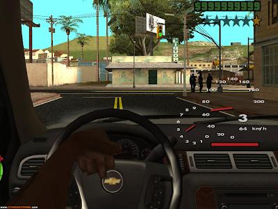 CamHack 1.2 + DLL de Correção GTA San Andreas.