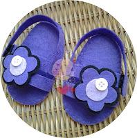 Handmade Baby's Sandal