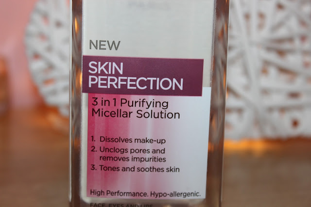 A micellar water to remove your makeup