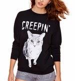 http://www.stylemoi.nu/creepin-cat-print-raglan-sleeve-sweatshirt.html