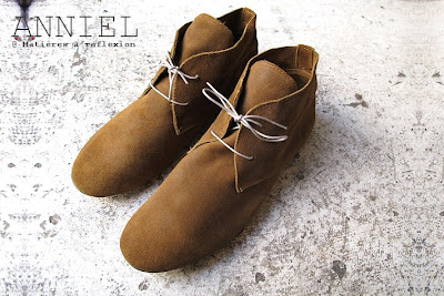 Desert boots Anniel homme en daim tabac