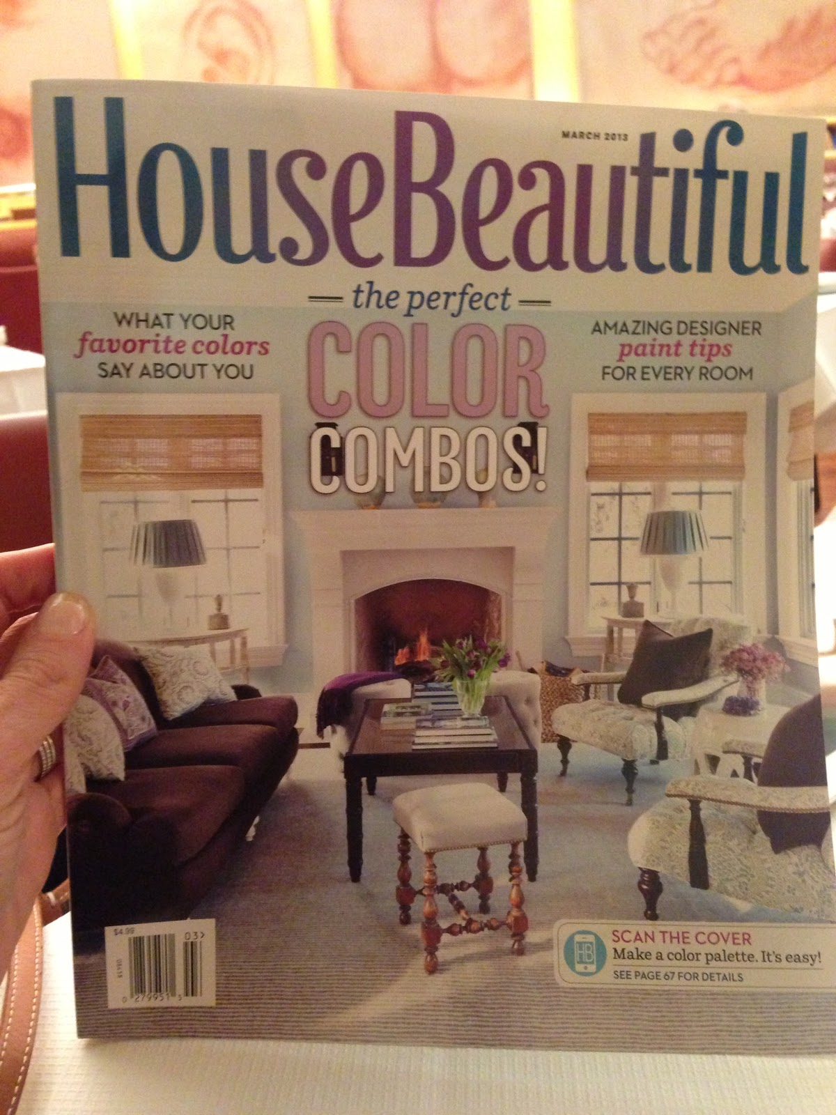 It 39 S Everything I Love House Beautiful Cover March 2013