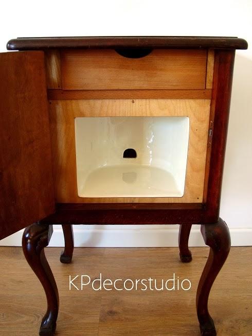 Kp tienda vintage online mesita de luz francesa como mesa - Mesas auxiliares antiguas ...
