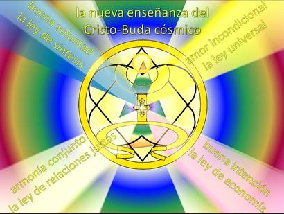 la nueva enseñanza de Cristo-Buda