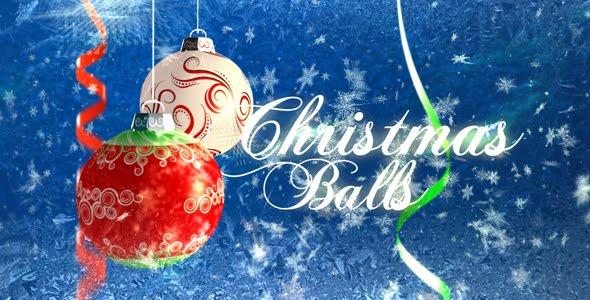 VideoHive Christmas balls