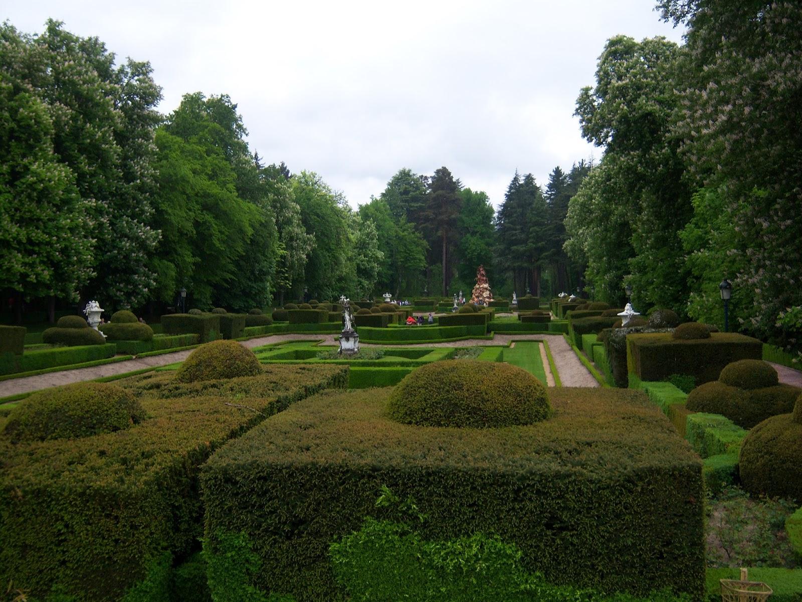 Segovia jardines la granja san ildefonso a dos pasos for Jardines de san ildefonso