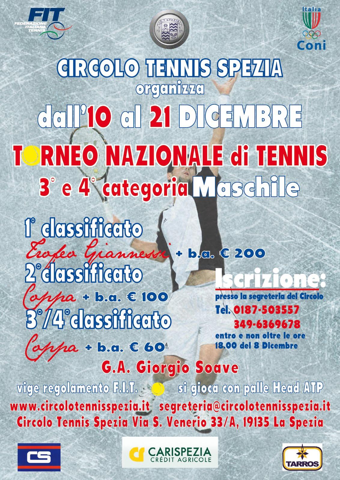 Circolo Tennis Spezia: 2011