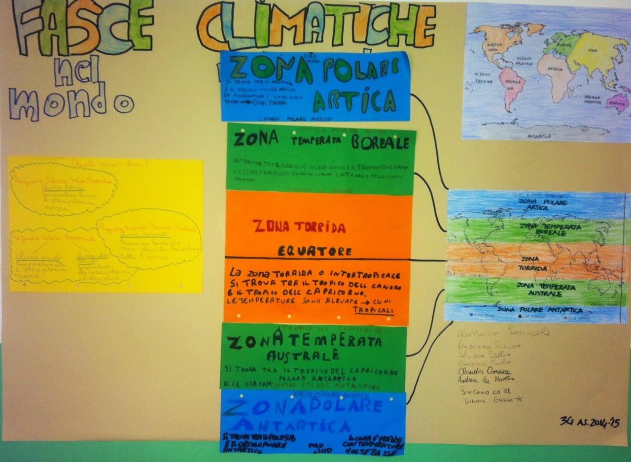 Diario di scuola fasce climatiche cartellone in 3g for Cartelloni scolastici