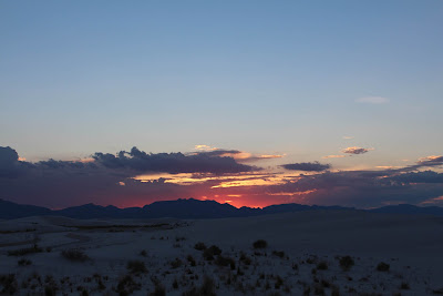 Sunset - White Sands National Monument, Alamogordo, New Mexico, USA