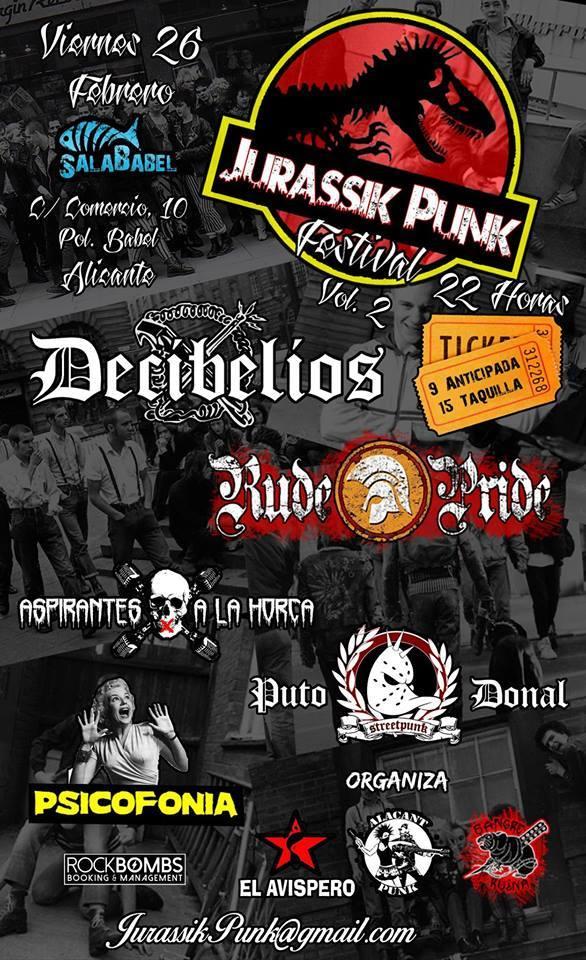 Jurassik Punk Festival Vol.2