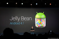 New Android 4.1 Jelly Bean