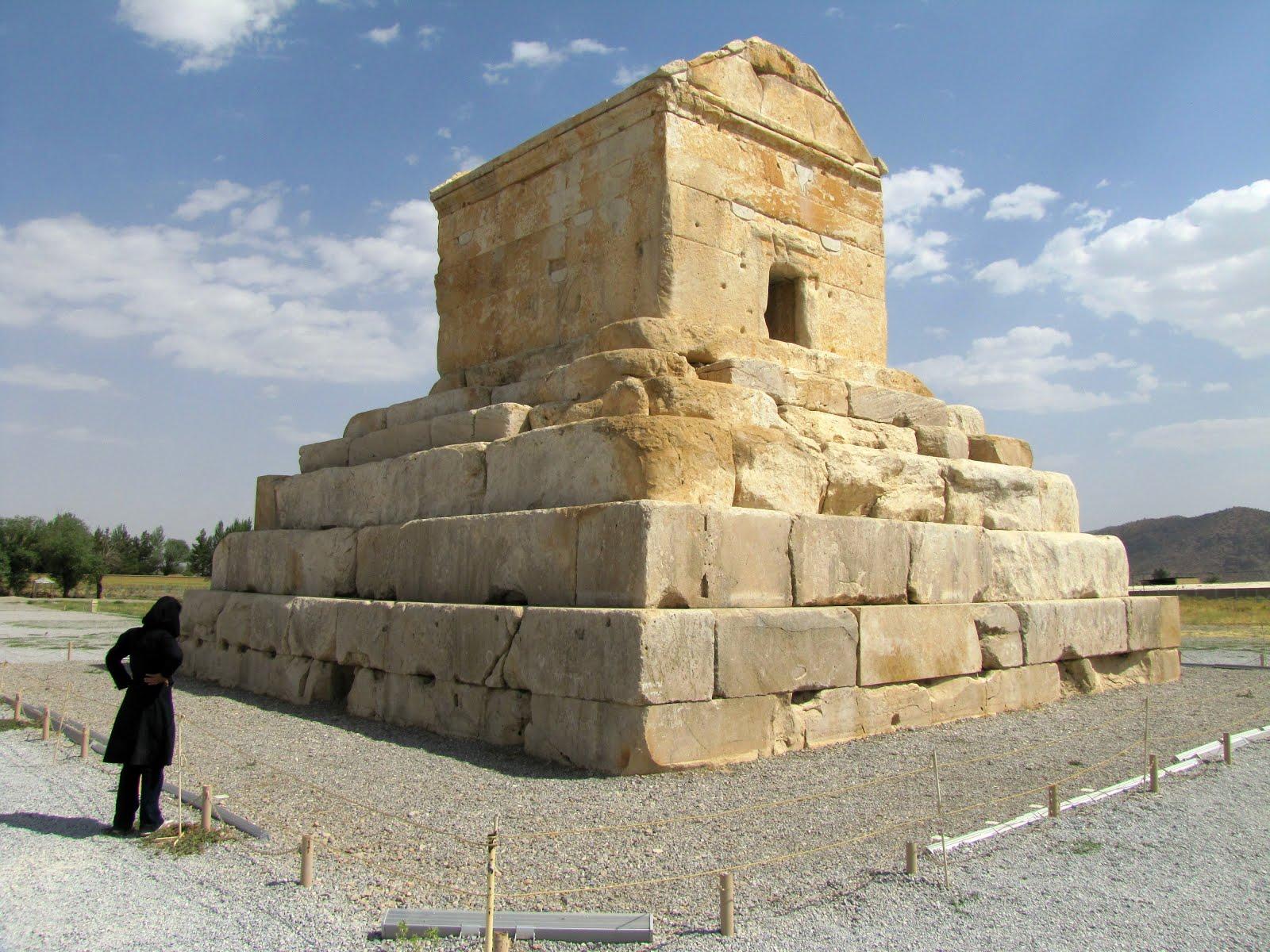 Travel Iran: Pasargadae - Tomb of Cyrus the Great