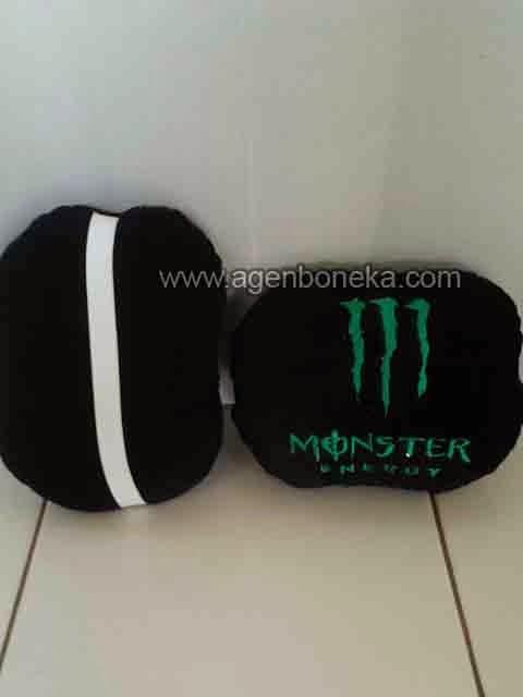 Bantal Sandaran Mobil Monster Energy