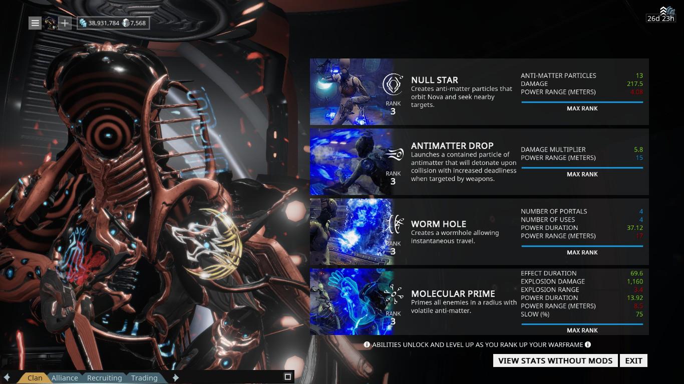 Warframe Chronicles Gems Of The Drift Series