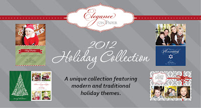 Elegance on Paper Holiday Photo Cards