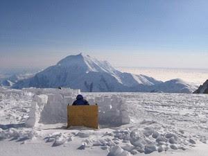 Toilet at Mount McKinley,tandas gunung salji,tandas awam di dunia