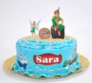 """Tort """"Peter Pan & Clopotica"""" pentru Sara"""