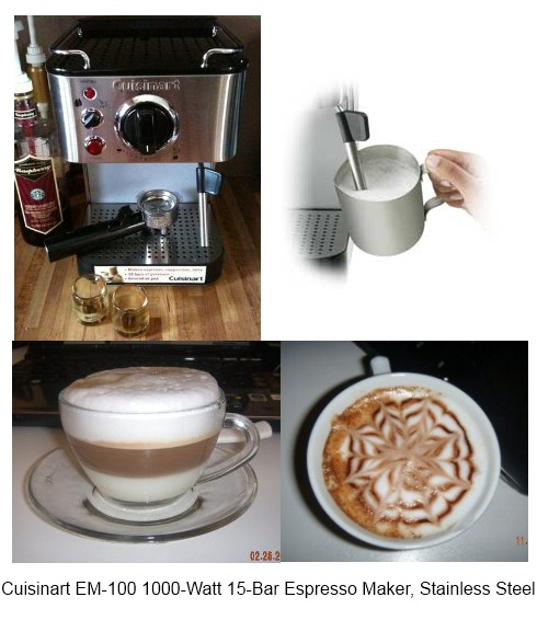 cuisinart espresso machine em 100