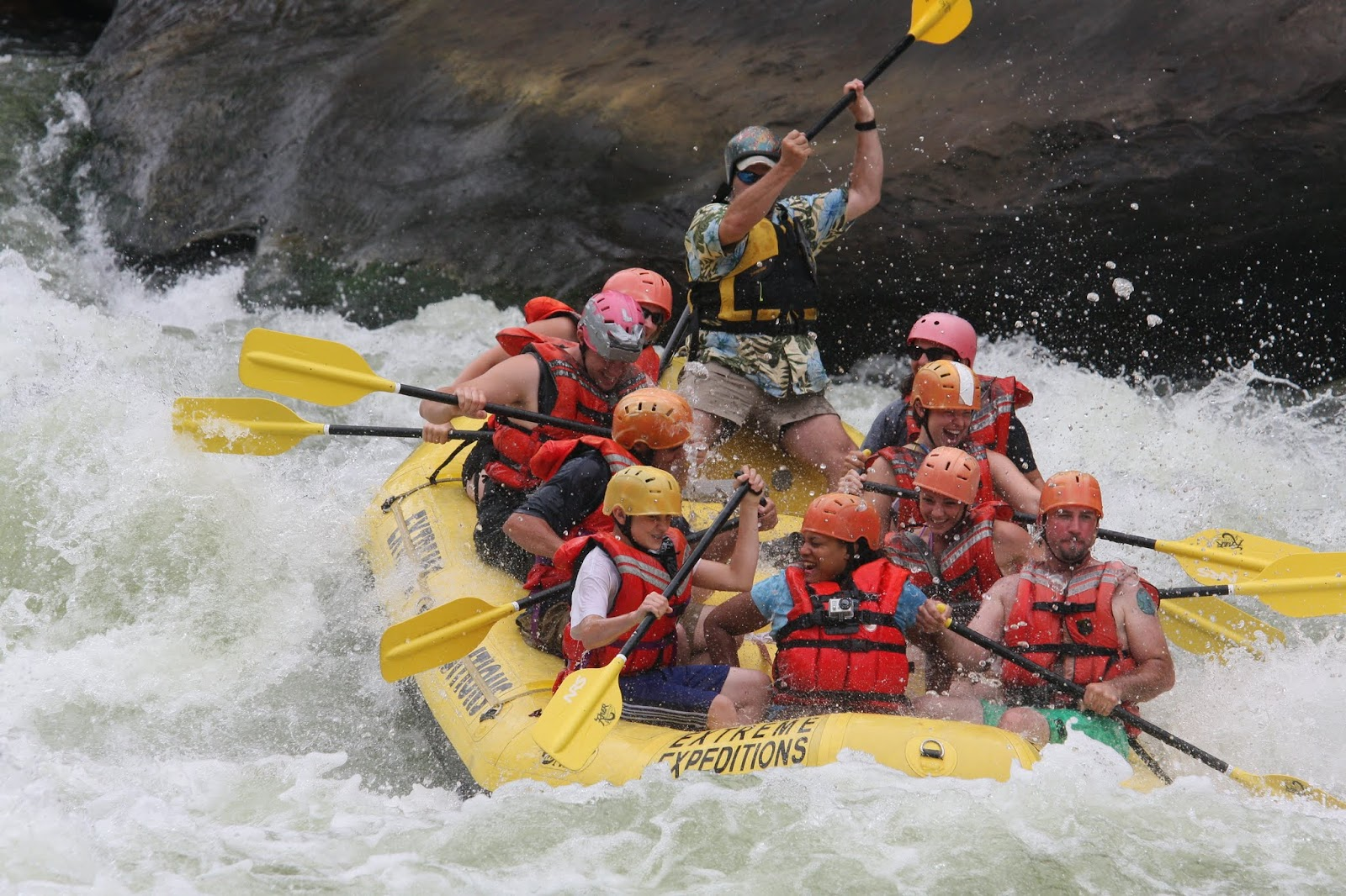 White Water Rafting in Charleston, West Virginia