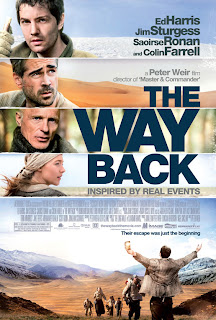 Watch The Way Back 2010 BRRip Hollywood Movie Online | The Way Back 2010  Hollywood Movie Poster