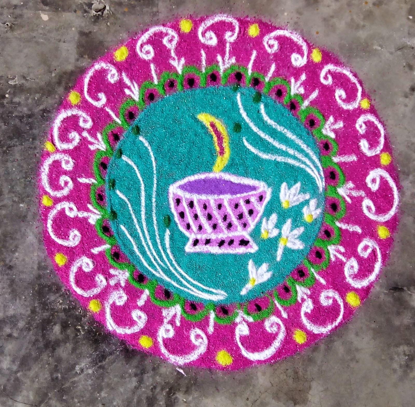 Kids Rangoli Designs 9