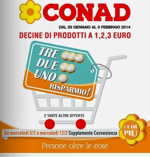 volantino - CONAD Offerte dal 29 Gennaio al 9 Febbraio 2014 ...