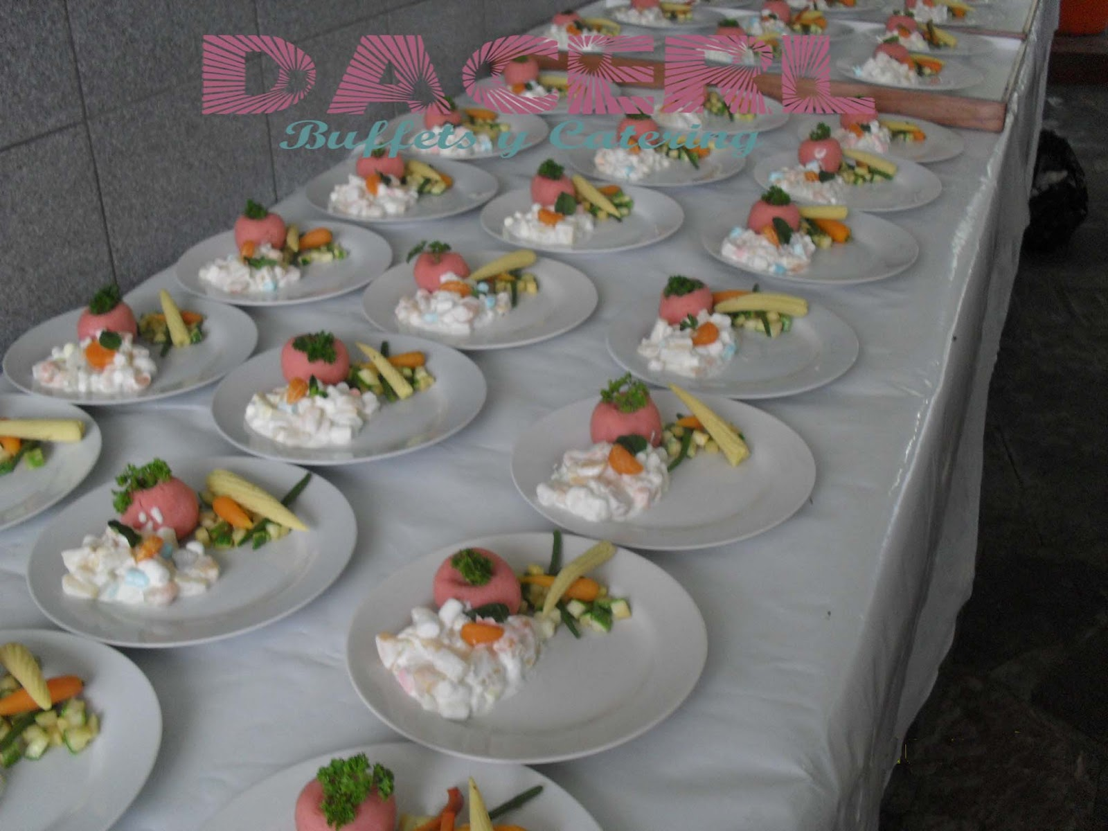 Dacerl catering buffets platos de fondo dacerl for Platos para