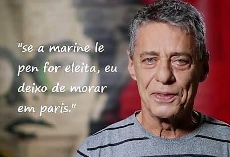Chico Buarque ameaça