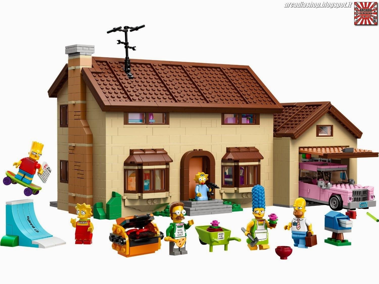Arcadia shop lego speciale collezionisti la casa dei for Casa speciale