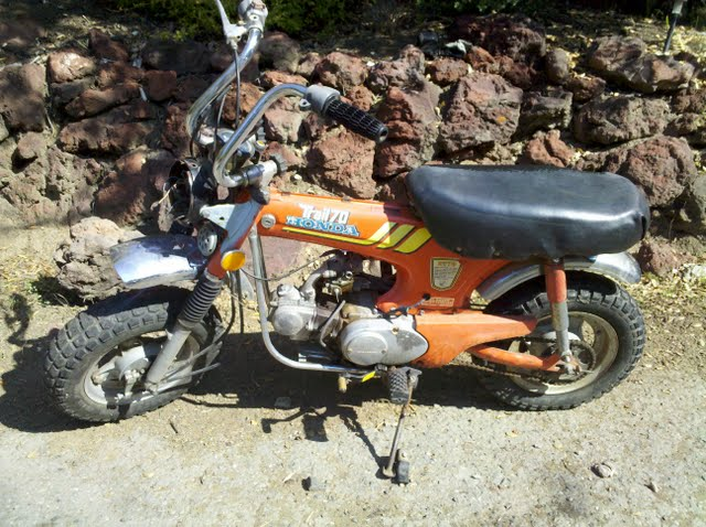 1977 Honda Ct70 Pictures to Pin on Pinterest PinsDaddy