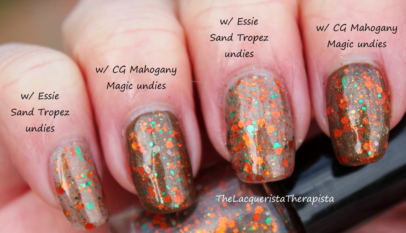 Finger_Lickin'_Lacquer-Truffle_Shuffle_over_Essie_Sand_Tropez_and_China_Glaze_Mahogany_Magic
