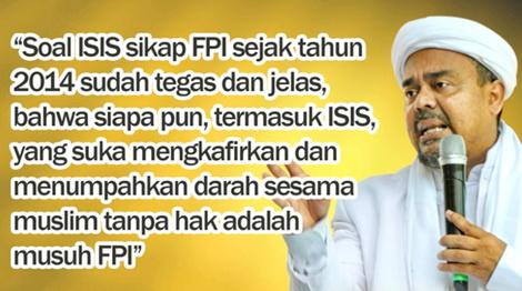 Dituduh Ikut Dukung ISIS dan PKI, Begini Klarifikasi Habib Rizieq