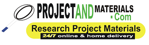 COMPLETE RESEARCH PROJECT TOPICS AND MATERIALSL