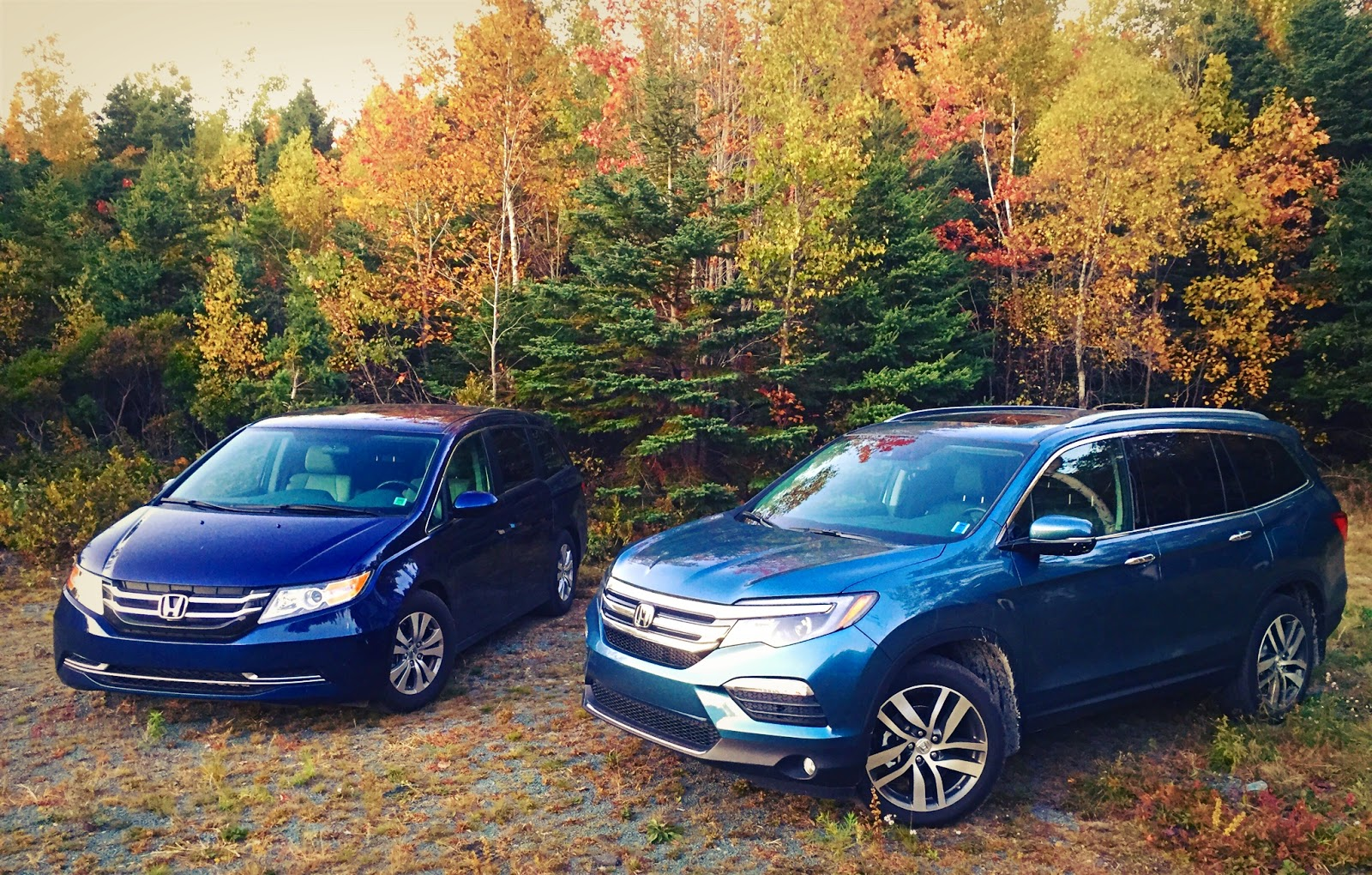 Comparison Test 2016 Honda Pilot Touring Vs 2015 Honda Odyssey