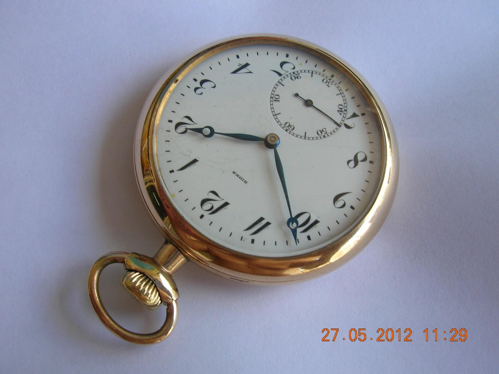 grandfather watches 289 1920 wittnauer birks 14k gold