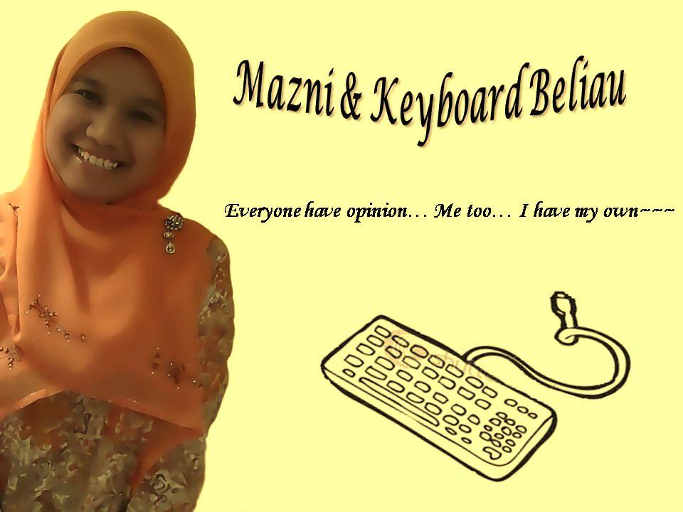 Mazni & Keyboard Beliau