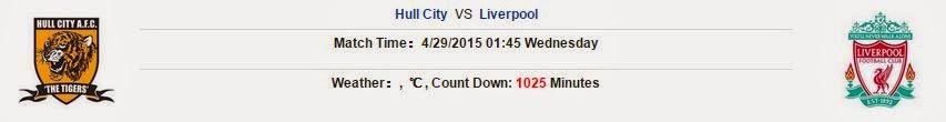 Kèo thơm bóng đá Hull City vs Liverpool
