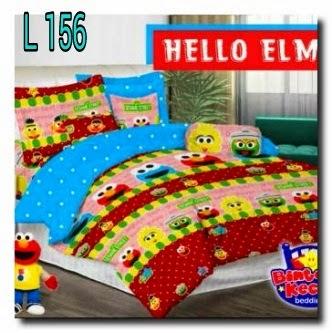 Sprei Hello Elmo Handamde pojokhandmade.com