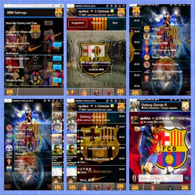 BBM+ ( Plus ) Mod Club Barcelona