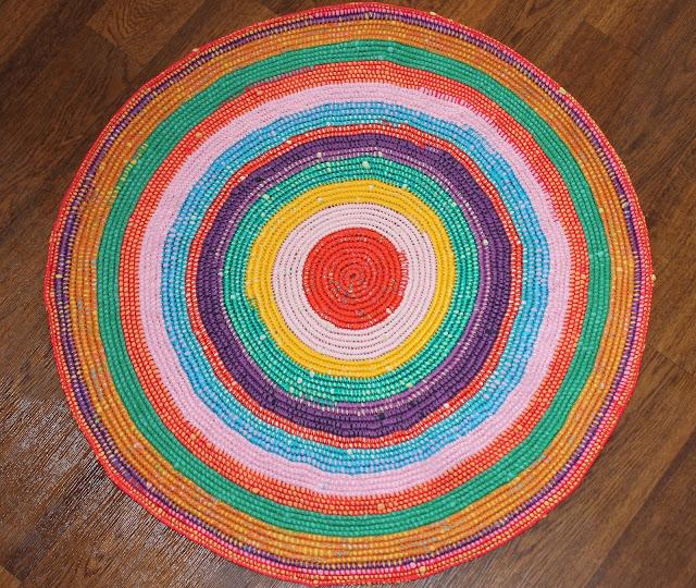 Вязаный коврик схемы фото
