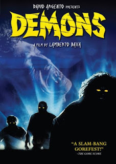 Demons DVD cover and Amazon link